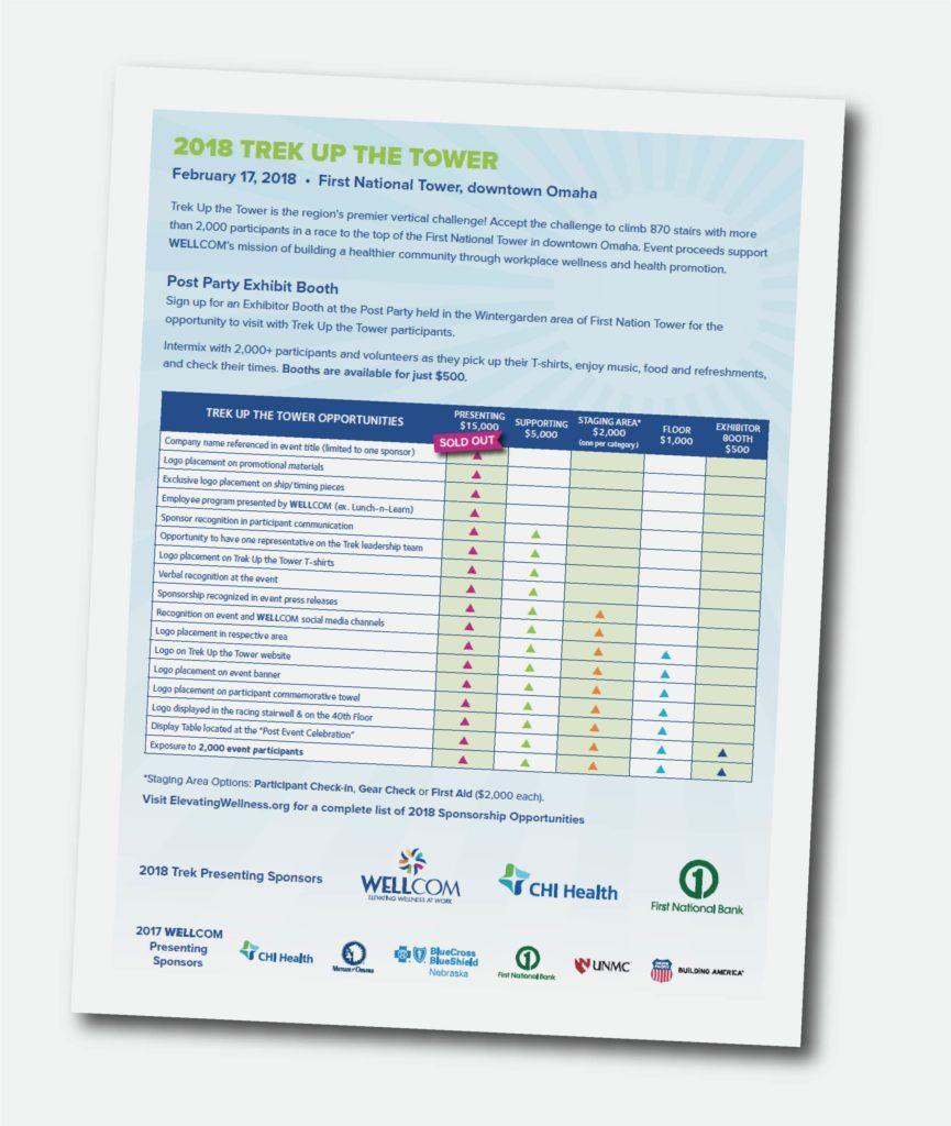 Trek Up the Tower 2018 Sponsorship Form
