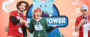 Trek Up the Tower winner